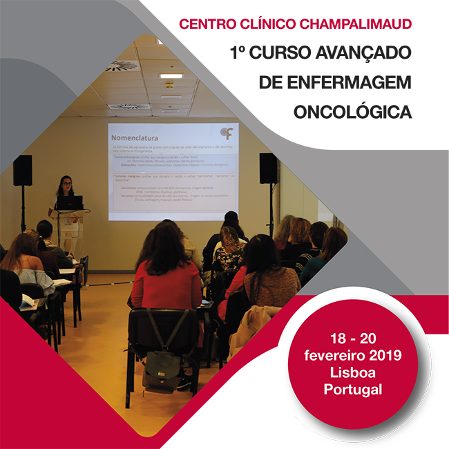 1º Curso Avançado de Enfermagem Oncológica da Fundação Champalimaud (20 Vagas)