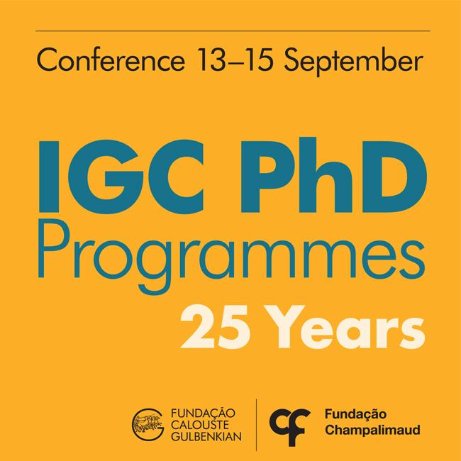 25 anos dos PhD do IGC