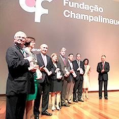 2014: Napoleone Ferrara, Joan W. Miller, Evangelos S. Gragoudas, Patricia A. D'Amore, Anthony P. Adamis, George L. King e Lloyd Paul Aiello